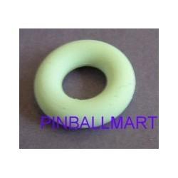 """7/16"""" I.D. Rubber Ring White (11.1mm)"""