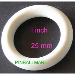 """1"""" I.D. Rubber Ring White"""