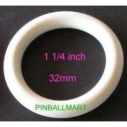 """1-1/4""""  I.D. Rubber Ring White"""