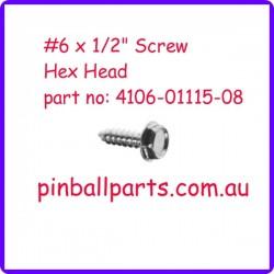 "Screw 6 x 1/2"" (10 pack)"